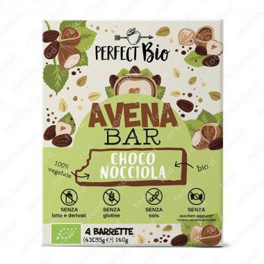 Энергетический овсяный батончик с шоколадом и фундуком БИО и Без Глютена Perfect Bio 140 г