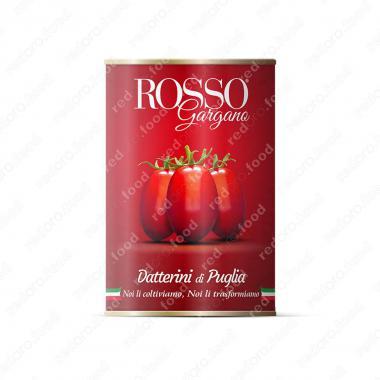 Томаты Даттерини целые в собственном соку Rosso Gargano 400 г