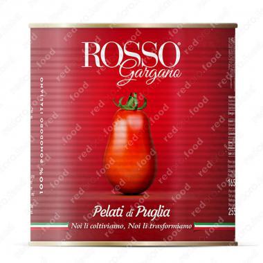 Томаты очищенные целые в собственном соку, пелати Rosso Gargano 2,55 кг