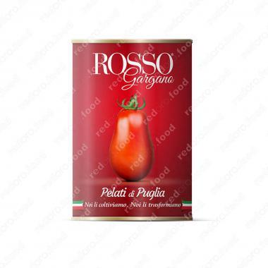 Томаты очищенные целые в собственном соку, пелати Rosso Gargano 400 г
