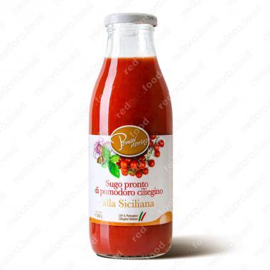 Томатный соус из сицилийских помидоров черри Сицилийский Без Глютена Pomodorino 500 г