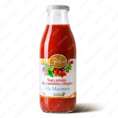 Томатный соус из сицилийских помидоров черри Маринара Без Глютена Pomodorino 500 г