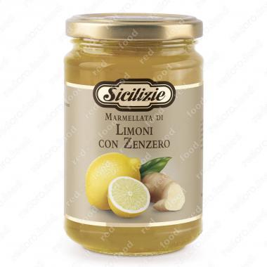 Джем из Сицилийского Лимона и Имбиря Sicilizie 360 г