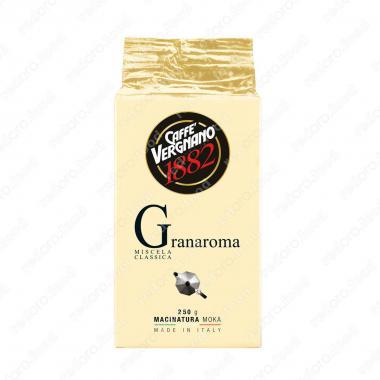 Кофе молотый Гран Арома (Gran aroma) Vergnano 250 г