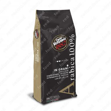 Кофе в зёрнах 100% Арабика (Arabica 100%) Vergnano 250 г