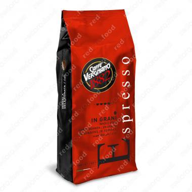 Кофе в зёрнах Эспрессо (Espresso) Vergnano 1 кг