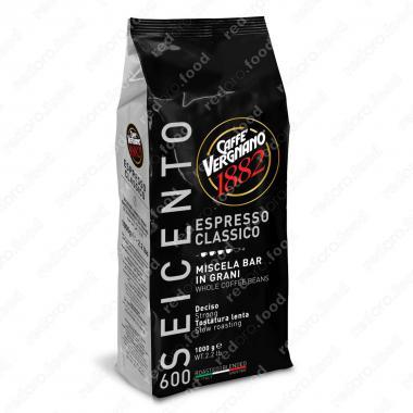 Кофе в зёрнах Эспрессо 600 (Espresso 600) Vergnano 1 кг