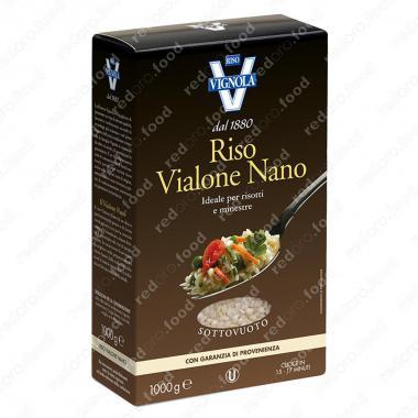Рис Виалоне Нано белый среднезёрный Riso Vignola 1 кг